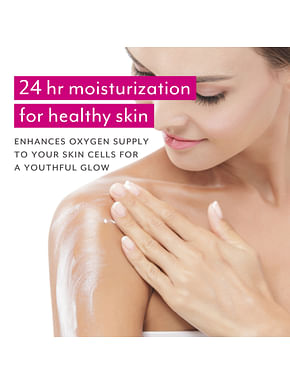 24 Hour Non-Stop Moisturizing Body Lotion - Pack of 2 @ 50%